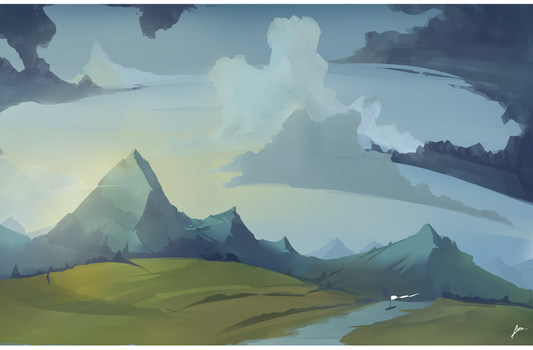 When ref turns into landscape by Illuday