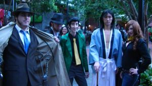 Katsucon 19 2013: Lupin and Friends by SpikeJet2736