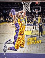 Kobe Bryant Poster Dunk by lisong24kobe