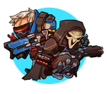Reaper76 Sticker by stupah
