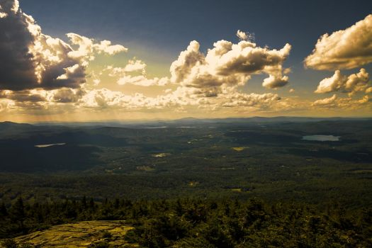View from a Mountain by b-a88