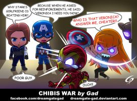 Chibis War by Gad by Dreamgate-Gad