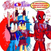RAD RICANS #4 - Stick em Up Ricans by Dante91