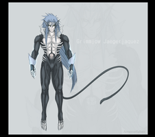 Dark Grimmjow by Arrancarfighter