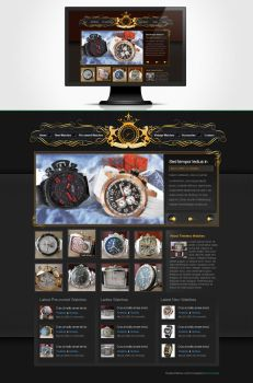 Timeless Watches Redesign by BonsaiMedia