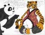 Pregnant Master Tigress by geckoguy123456789