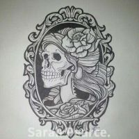 victorian skull by SarahP86