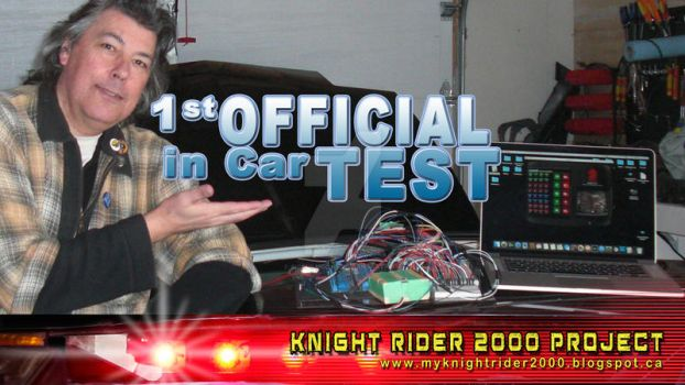 First Official InCar Test Knight O.S. (Video Link) by sicklilmonky