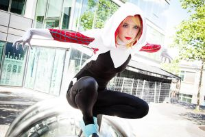 Spider Gwen cosplay III by ReaverSkill