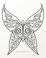 Sinful Butterfly Tattoo - V1 by Obsolution