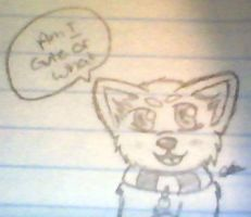 Anime Puppy doodle by Ciaratheresa
