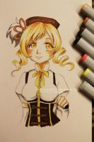 Mami Tomoe - Copic markers by Nasuki100