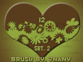 12 brush _set 2 by 7nany
