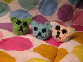 Crochet Cats by jesspotter