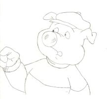 Lloyd Pig by ClarityFV