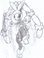 Mega Lopunny by PrettySoldierPetite