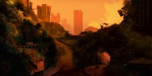 Jungle of Newport - Wasteland 2 fan art by Weilard