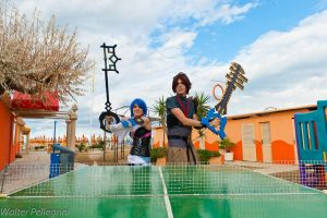 Kingdom Hearts ping pong by Giuly-Chan
