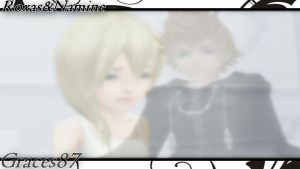 Roxas Namine wallpaper by Graces87