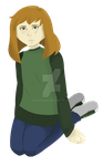 Greenshirt girl! by Maximarian