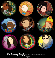 Firefly Icons by ladycimone