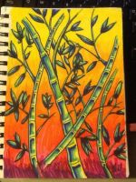 Colorful Bamboo by Sheltie2b