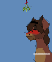 Tumblr mistletoe meme by denahzi