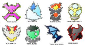 Kroel Gym Badges by darksilvania