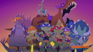 HSH: Blast To The Past- TMNT 2012 1001 Animations by SofiaBlythe2014