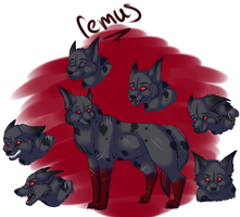 Remus Feral by Shadi-Carcer