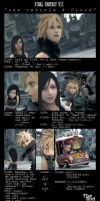 final fantasy 7 by kokecit