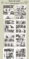 Dusty old comics by HatPup