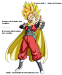 DB Heroes GM Hero ssj V4 Render by Metamine10