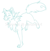 [OPEN] Your Character Here - Lineart Auction by Shironiki