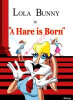 Lola Bunny in A Hare is Born by Memije