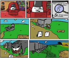 How paper is made. Part 1 by Toderico