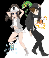 Pokemon: Black and White by Musapan