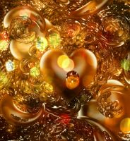 Gold love by HelaLe