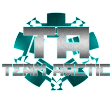 Team Arctic Logo RUSKOF Light font by TheAmbitiousOne