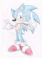 Sonic the Hedgehog Drawing Day by nothing111111