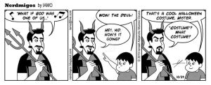 Nerdmigos: The Devil by IAMO76