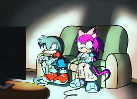 AT: Gaming by wisp2007
