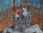 VK OC and KANAME! by KittyNinja2009