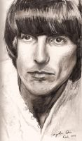 George Harrison by goshnessmaggy