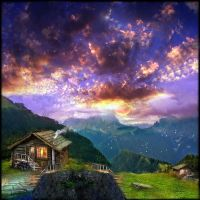 Dolomites Cabin by Stroody