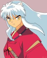 Inuyasha colour by tsteeley
