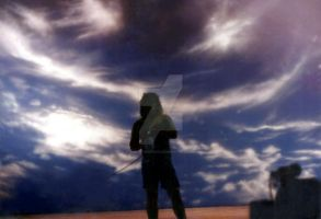 Panel Deep Blue Sky ( AIRBRUSH ) by christiano2211