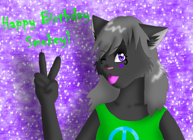 Happy LateLate B-day Smokey by Moonflight-RiverClan