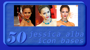 50 Jessica Alba icon bases by SydneyWells