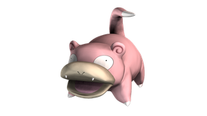 079 Slowpoke by bogeymankurt
